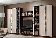 Флоренция 2 - Комплект для гостинной, Венге, БТС Мебель