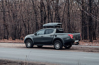 Автобокс Broomer Venture серый перламутр 430 л. 187х89х40 см