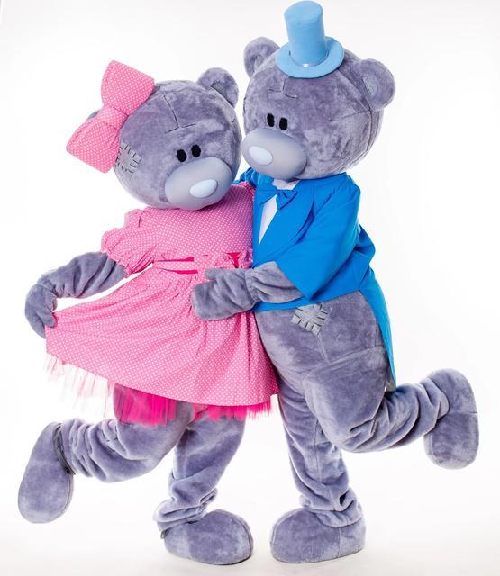 Ростовые куклы мишки Тедди