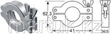 Хомут KF10/16 (NW10/16) тип 1, алюминий