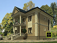 3d моделирование дизайн|Дизайн фасада