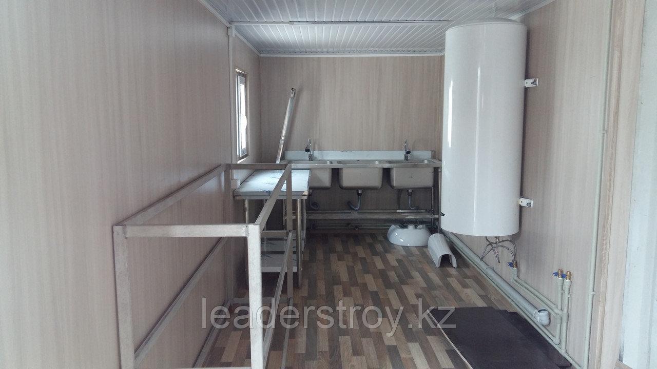 Утепленный контейнер под кухню