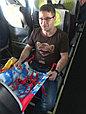 Гамак для самолёта  Airbaby голубая мечта, фото 3