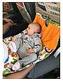 Гамак для самолёта  Airbaby голубая мечта, фото 5