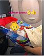 Гамак в самолет розовый, фото 4