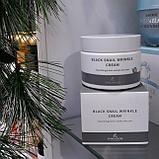 Питательный крем против морщин с муцином черной улитки The Skin House Black Snail Wrinkle Cream, фото 5