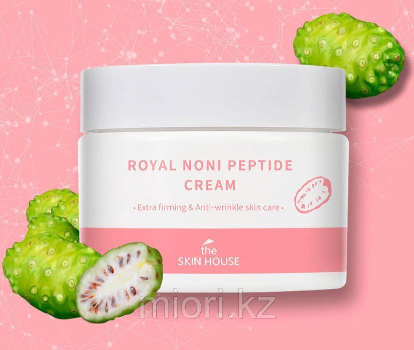 Укрепляющий крем против морщин с мориндой и пептидами The Skin House Royal Noni Peptide Cream