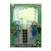 Набор фигурок «Minecraft» с оружием