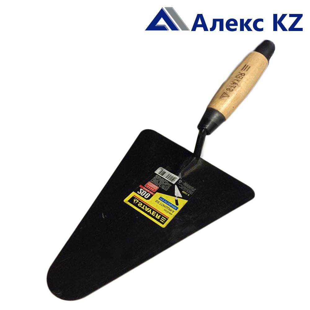 Кельма бетонщика STAYER с деревянной усиленной ручкой