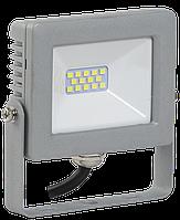 Прожектор светодиодный СДО 07-10 IP65 серый IEK, фото 1