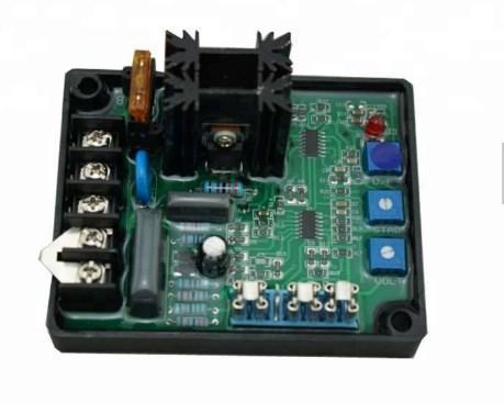 Универсальный автоматический регулятор напряжения Gavr 8A генератор запасных частей AVR, фото 2