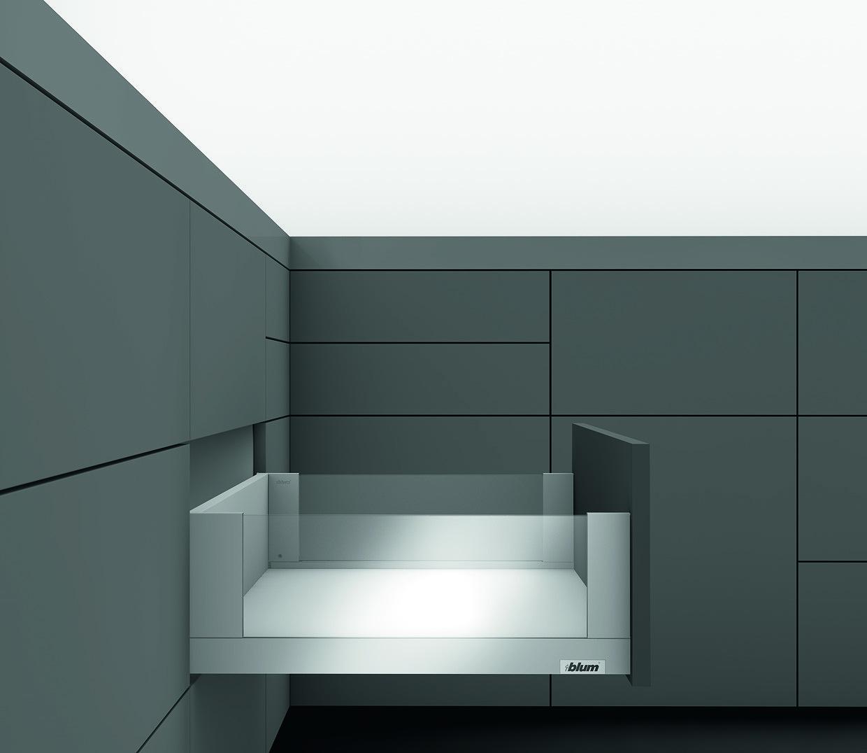 LEGRABOX с TIP-ON BLUMOTION 40 кг C FREE 400 Орион серый L1