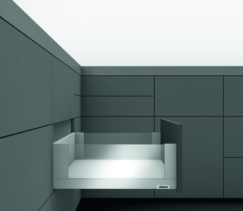 LEGRABOX с TIP-ON BLUMOTION 40 кг C FREE 550 Орион серый L1
