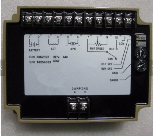 Регулятор скорости управления блок 3062322, фото 2