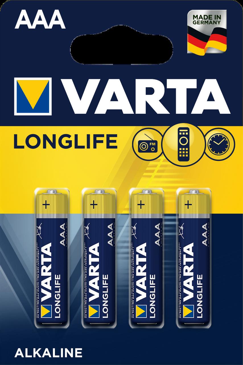 Батарейка Varta Longlife AAA  Alkaline
