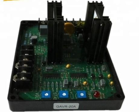 Автоматический регулятор напряжения Avr GAVR-20A генератор Avr схема схемы, фото 2