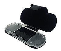 Чехол кожаный на застежке с креплением Sony PSP Slim 2000/3000 Pouch Panther Lord, черный, фото 1