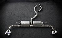 Спортивная выхлопная система с заслонками на BMW X5 F15 3,0 T