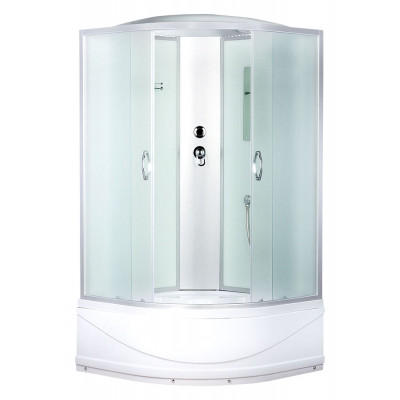 Душевая кабина ERLIT ER3510TP-C3 1000*1000*2150 высокий поддон, светлое стекло