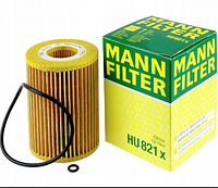 Масляный фильтр mann HU 821 х  элемент