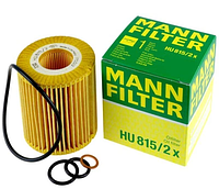 Масляный фильтр mann HU 815/2 х  элемент