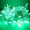 """Гирлянда новогодняя светодиодная """"Нить"""" - 10 метров, 80 лампочек, зелёный свет, светит постоянно"""