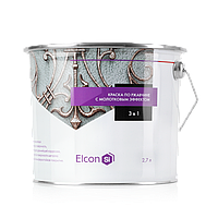 Кузнечная краска Elcon Smith 3 в 1 (с молотковым эффектом) золото, 0.8кг