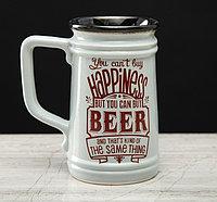 "Пивная кружка ""Beer"", Прямая 0.6 л"