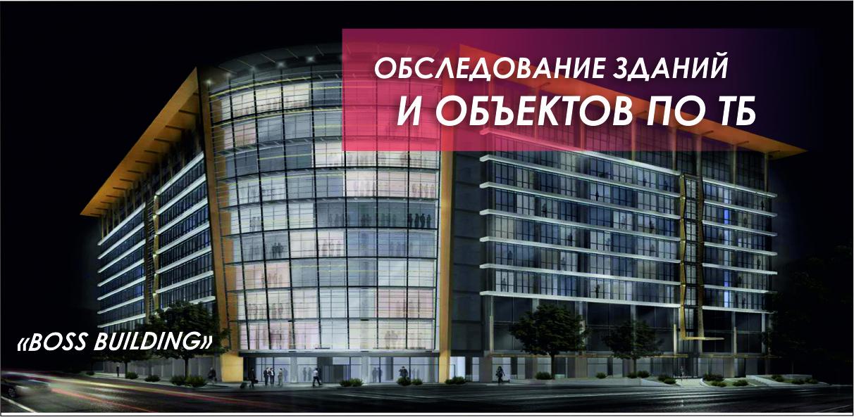 Обследование зданий и объектов по ПБ