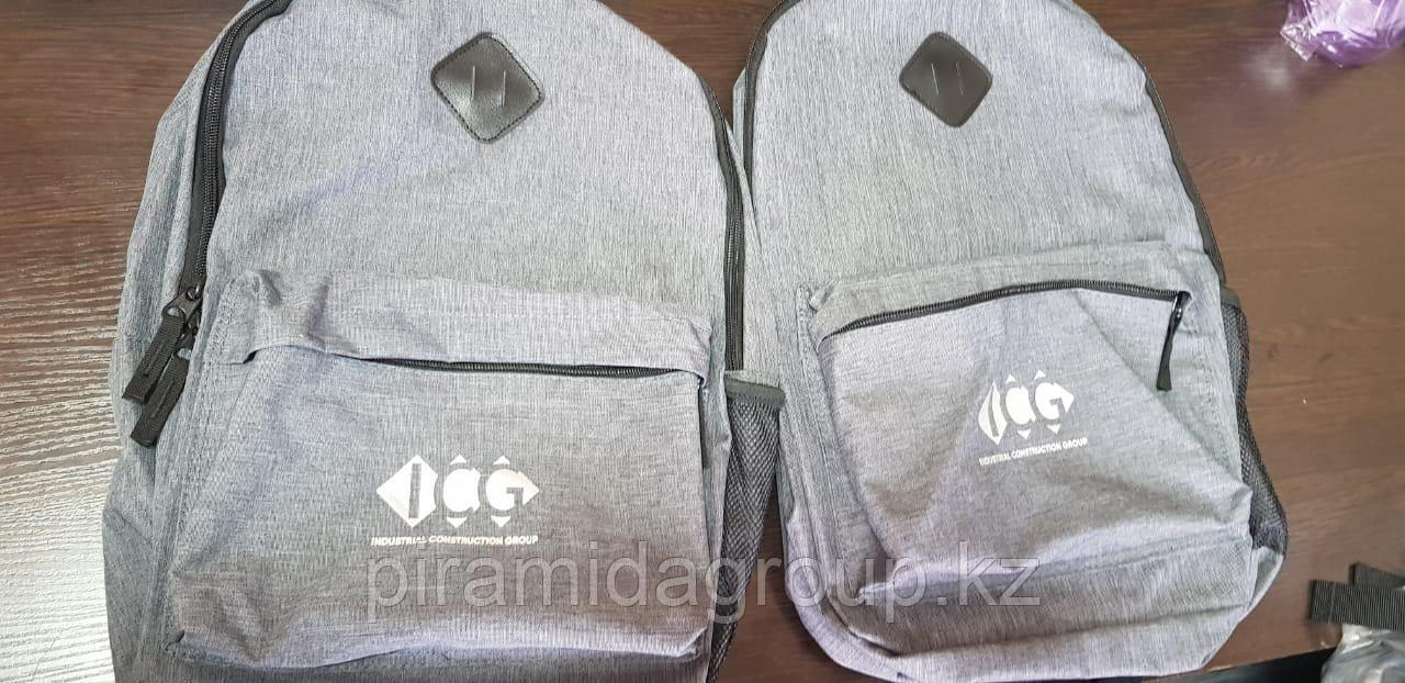 Нанесение логотипа на рюкзаки