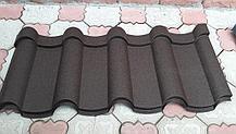 Металлочерепица Андалузия RAL - 8019 (темно-коричневый)