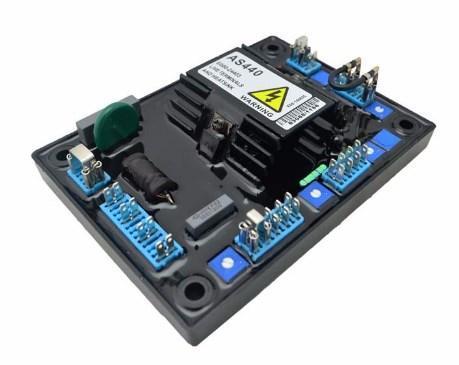 Запчасти генератора автоматический Регулируемый регулятор напряжения AVR AS440, фото 2
