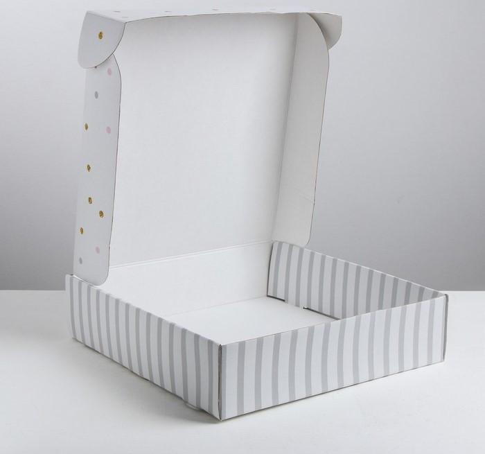 Складная коробка «Наслаждение», 34.3 × 34.9 × 8.5 см - фото 2