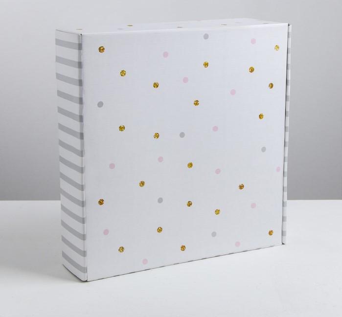 Складная коробка «Наслаждение», 34.3 × 34.9 × 8.5 см - фото 3