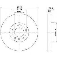 Тормозные диски Bmw E36 M3  (передние,RoadHouse)