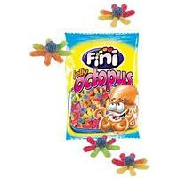 "Жев.мармелад ""Jelly Octopus"" осьминоги в сахаре Халал 100 гр   /FINI Испания/"