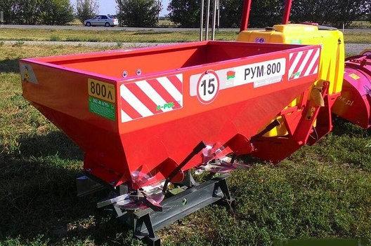 Разбрасыватель удобрений 800л D-Pol (Белоруссия), фото 2