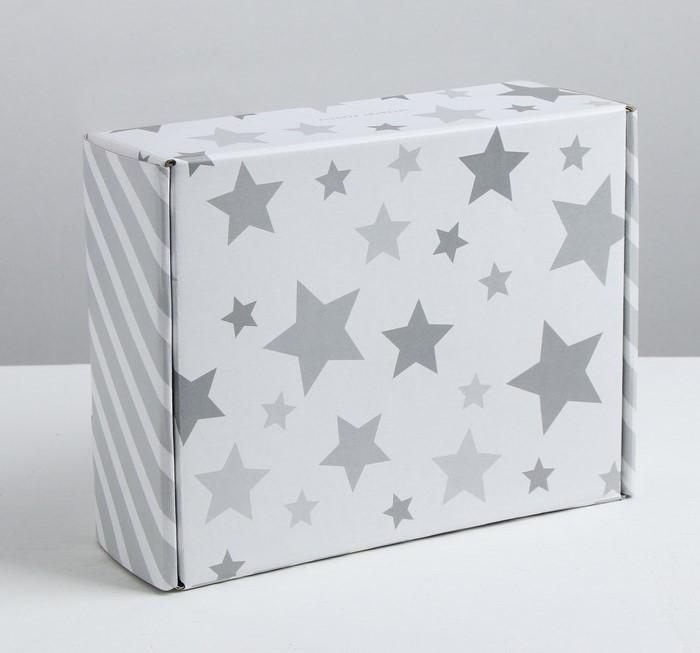 Складная коробка «Звёздные радости», 27 × 9 × 21 см