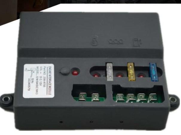 Управления двигателем модель eim одноцветное MK3 258-9755 DC 12 В/24 В для дизель-генератора, фото 2