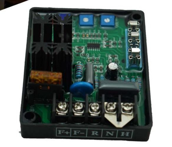 Генератор части общего автоматический регулятор напряжения AVR-8A