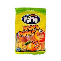 "Жев.мармелад ""peach rings"" персиковые кольца 100 гр   /FINI Испания/"