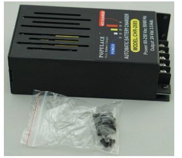 24 вольт дизель-генератор зарядное устройство CHR-2685 3.5A, фото 2