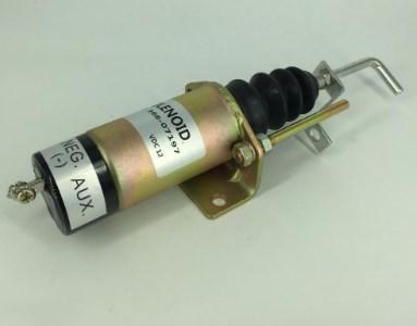 24 Вольт соленоида Salve 36607197 для дизель-генератора части, фото 2