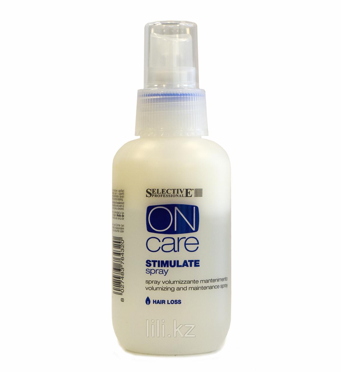 Спрей стимулирующий для объема от выпадения волос Selective On Care Stimulate Spray 100 мл.