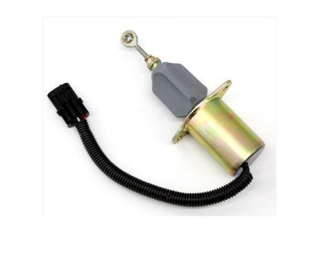 12 В DC электромагнитный клапан 3930233 отсечки топлива Стоп электромагнитный для дизельных двигателей, фото 2