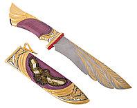 Нож из дамасской стали ручной работы нож - Купить в Казахстане