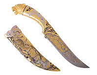 """Нож ЦМ """"Ягуар"""" (сталь нержавеющая """"ЭИ-107"""") - Купить в Казахстане"""