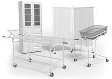 Медицинская мебель и сопутствующие товары