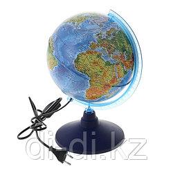 "GLOBEN Глобус физический  ""Классик Евро"" диаметр  210мм, с подсветкой Ke012100179"