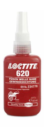 620 LOCTITE 50ml Высокотемпературный клей высокой прочн.